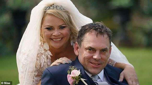 Before: Jo failed to find love with ex-'husband' Sean Donnelly (right) on the fifth season of Married At First Sight