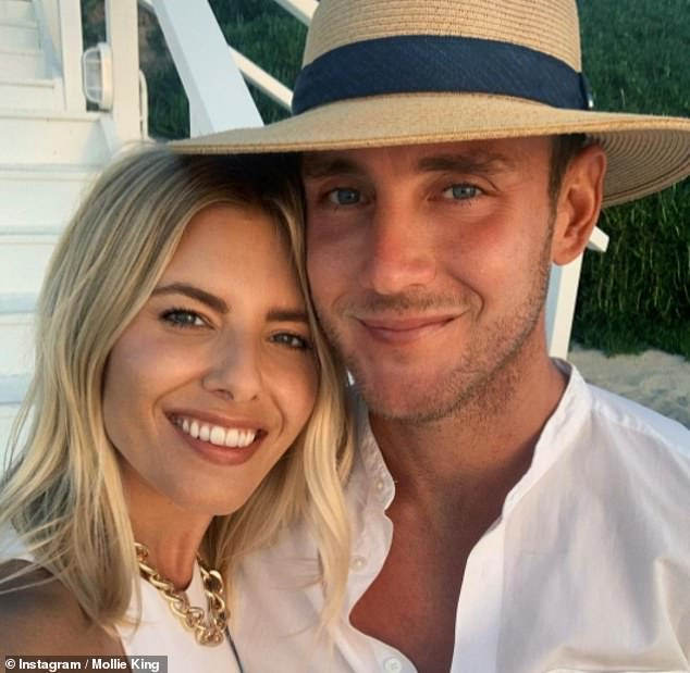 Mollie King gushes she's 'so proud' of her cricketer boyfriend Stuart Broad in rare post
