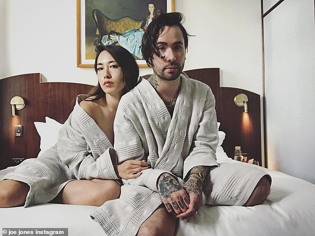 Lovers:The former couple eloped at Joshua Tree National Park in California in February 2017, after dating for five months.'When you know, you know,' she said of their whirlwind romance
