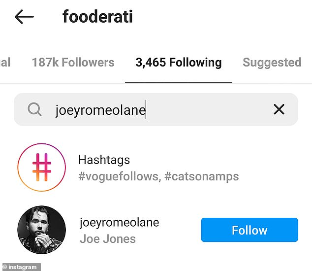Still friends?Interestingly, the exes still follow each other on Instagram, which is perhaps an indication the break-up was somewhat amicable