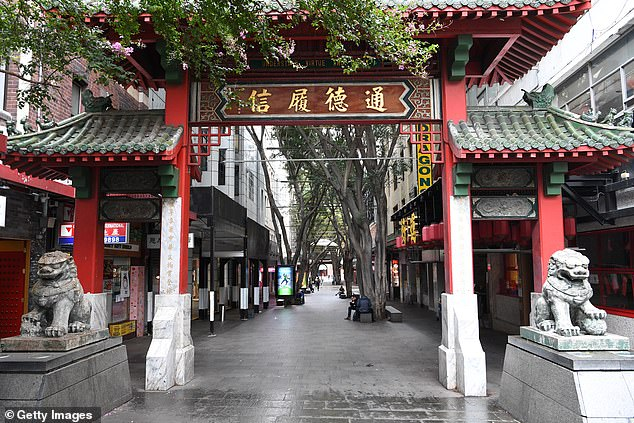 Australians are being urged to dob in foreigners illegally buying residential properties under a new compliance scheme designed to stop houses becoming too expensive. Pictured is Sydney's Chinatown
