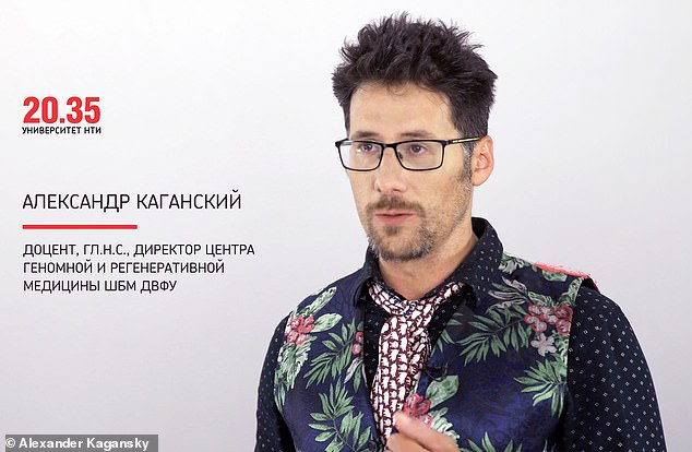 Dr Kaganksy's murder brings the number of coronavirus-linked window falls in Russia to eight, all but one of them fatal