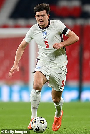 The centre back has only featured four times for England though in 2020