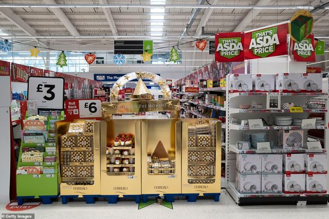 The products have been blocked off to shoppers under the newly imposed Welsh coronavirus lockdown rules