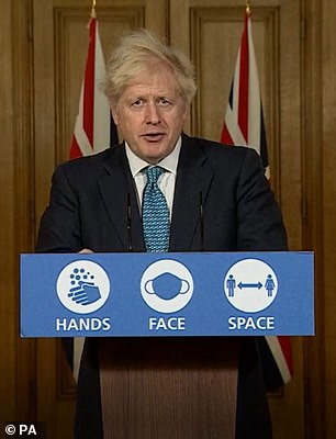 Boris Johnson: The Prime Minister has cancelled Christmas in a grim end to 2020