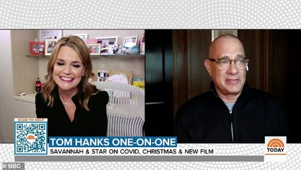A-list stalwart spoke with today's Savannah Guthrie in a chat