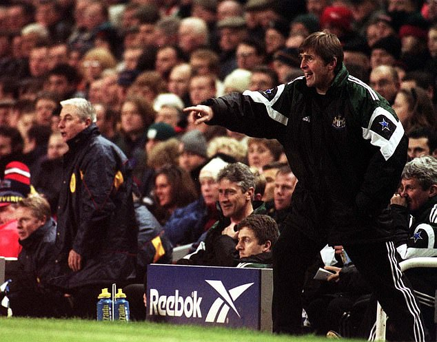 Newcastle found their first full season under Kenny Dalglish (right) in 1997 very tricky indeed