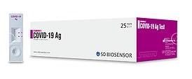 SD Biosensor's rapid coronavirus test