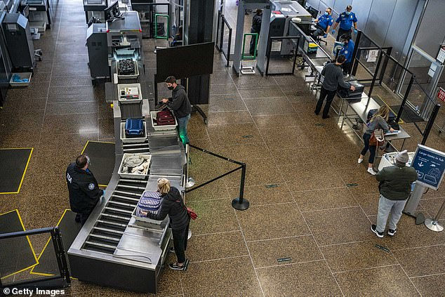 Abobakkr and Mohamed were questioned by the FBI and TSA in front of other passengers at the airport (stock photo)