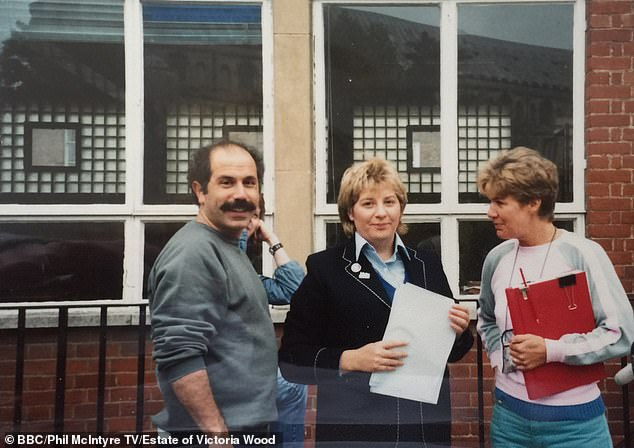 Throwback: Victoria Wood's family have revealed unseen snaps of the late comic ahead of a documentary focusing on her most iconic moments