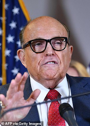 RudyGiuliani is named in the suit