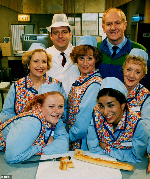 Look-back: Victoria Wood: The Secret List will see stars reflecting on the late comedian's most loved sketches from her 45-year career (pictured in Dinnerladies)