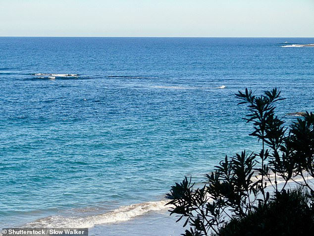 The two ghosts who allegedly haunt Jenny Dixon Beach (pictured) are a young murdered hitch hiker and a mother searching for her son who died in a shipwreck