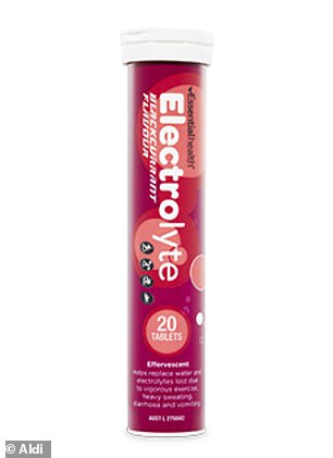 The Essential Health Electrolytes are available in a 20 pack for only $5.49