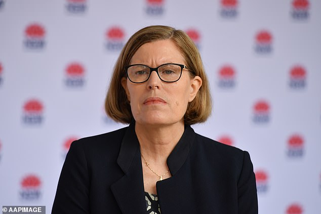 NSW Chief Health Officer Kerry Chant (pictured) said contact tracing was underway