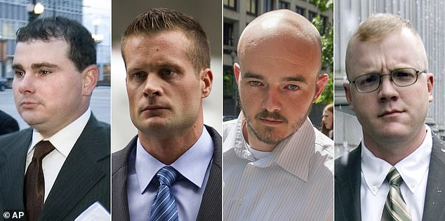 Among the other pardons were Nicholas Slatten, Paul Slough, Evan Liberty and Dustin Heard, former contractors at Blackwater Worldwide convicted of killing Iraqi civilians