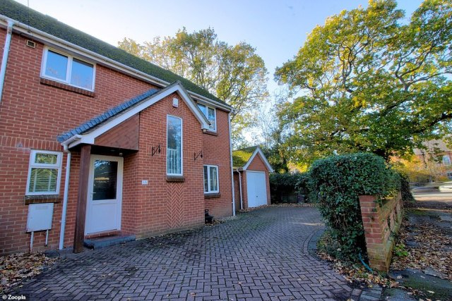 Christchurch: A three bed detached house boasting a huge driveway and private garage is on the market for£400,000