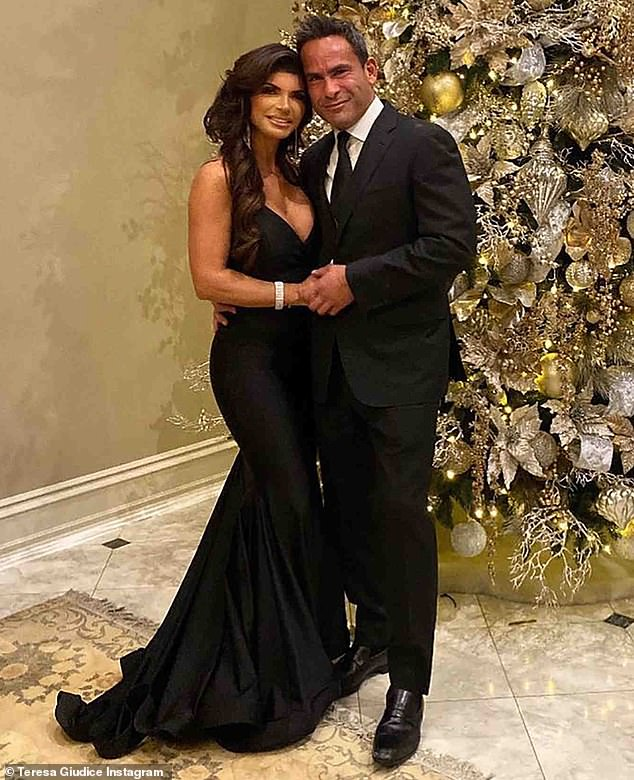 It's love:Teresa Giudice went Instagram official with her new beau Luis Ruelas on Monday by sharing a charming image. And the next day the 48-year-old reality TV personality shared another image of the two
