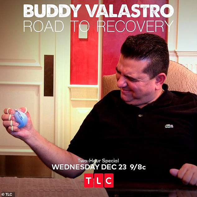 Coming soon: Buddy Valastro: Road To Recovery will air tonight on TLC on 9/8C