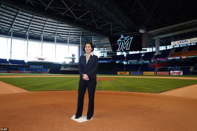 Last month, the Miami Marlins hired Kim Ng as general manager, making her the first woman to hold that title in any of North America's four major men's professional leagues. She's also now the first Asian-American general manager in MLB history