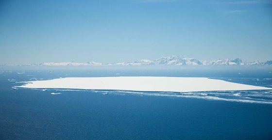 In Figure A68d, north of the main iceberg, and in the background, the island of South Georgia is at risk