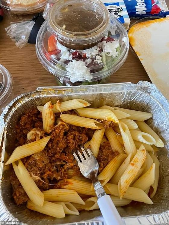 Another person at The Stamford Plaza Hotel in Adelaide was served a penny with an economical amount of bolognese sauce that barely covered the pasta and Greek salad.