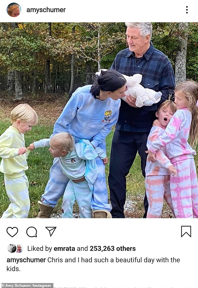 The latest: Amy Schumer, 39, is back at it with Hilaria Baldwin, 36. She took to Instagram on Christmas Friday with a family shot of Hilaria, her husband Alec Baldwin and their five children, pretending she was the Mom Brain podcaster after a recent series of posts made headlines