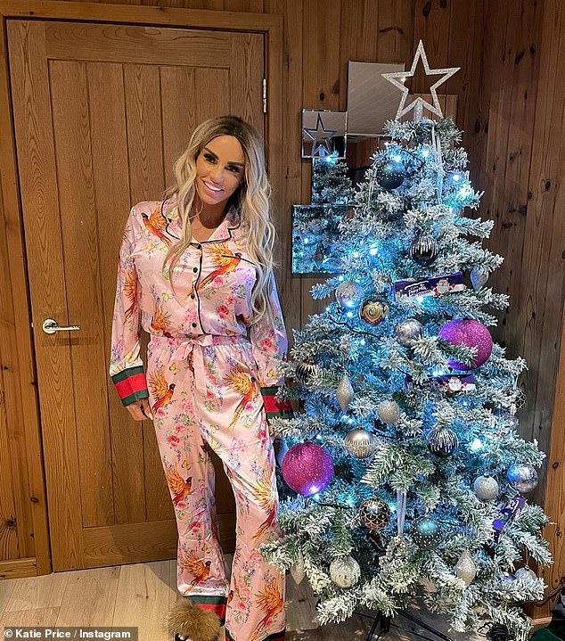 Katie Price says alter ego Jordan makes her feel 'sick' as she enjoys FIRST sober Christmas