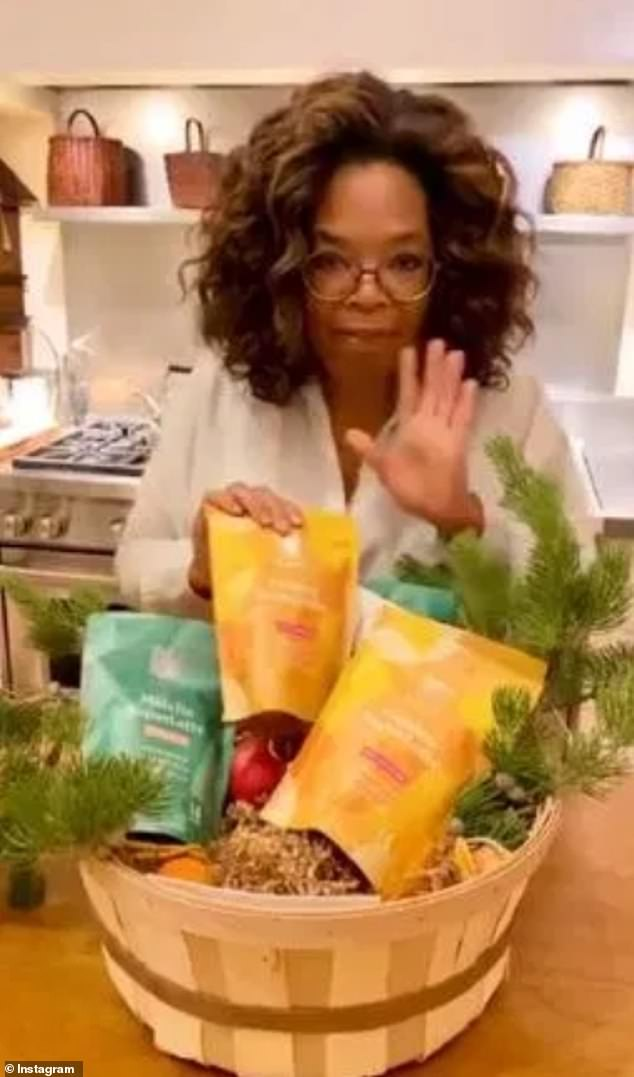 Fan: The business has also won the approval of Meghan's neighbour Oprah Winfrey