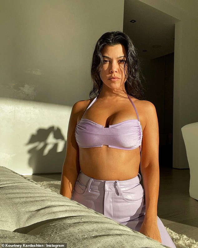 Kourtney Kardashian shares an article about being AUTOSEXUAL