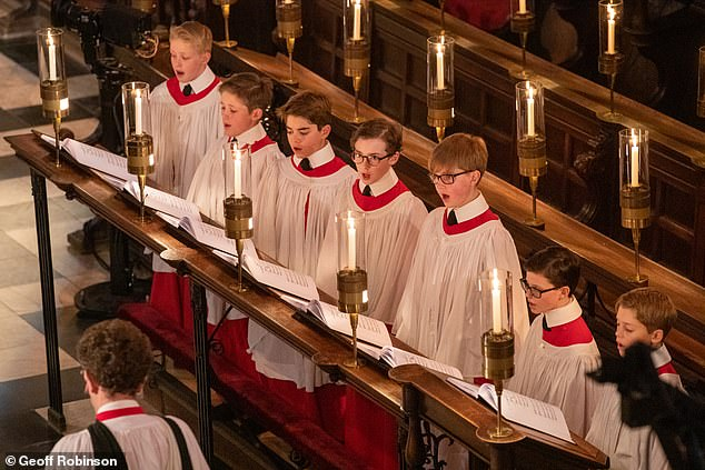 Viewers complained to the BBC after none of the choristers involved in Christmas Eve's 'Carols from King's' appeared to be of non-white heritage