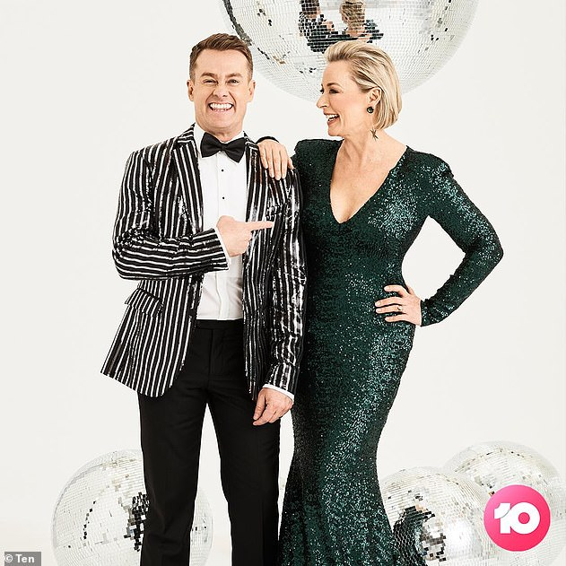 Changes: Dancing with the Stars originally aired from 2004 to 2015 on Channel Seven, before moving to Channel 10 in 2019 with new hosts Grant Denyer and Amanda Keller (both pictured)