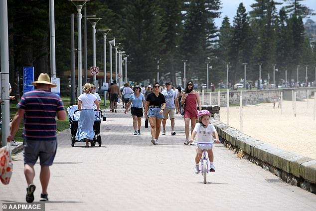 The changes mean Northern Beaches residents will be bound by the same rules they were on December 23 (pictured, Manly beach)