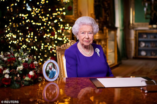 The monarch's annual message, which praised the 'indomitable spirit' of those who have risen to the challenges of the pandemic, was watched by 6.3million on BBC One - but this was down from 6.4 million last year