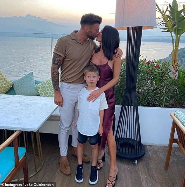 Mama! Jake's girlfriend Sophie is already mum to her little boy Freddie