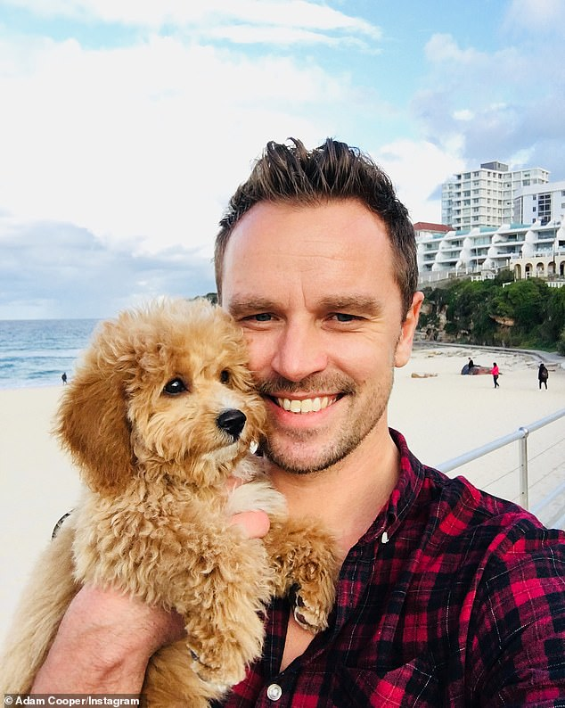 Cute! In addition to his dedication to health and fitness, Adam is a dog lover, having adopted his Cavoodle, Luna, in June 2018