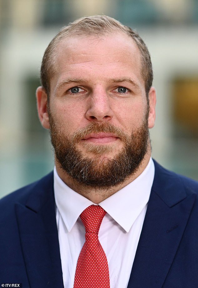 James Haskell, 35, (pictured) who played rugby union for Wasps, Northampton Saints and England, reveals his one lesson he learned in life is that you can lie - but not to yourself