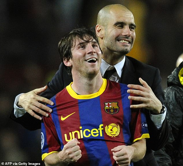 The Argentine had plenty of praise for former boss Pep Guardiola's 'exceptional preparation'