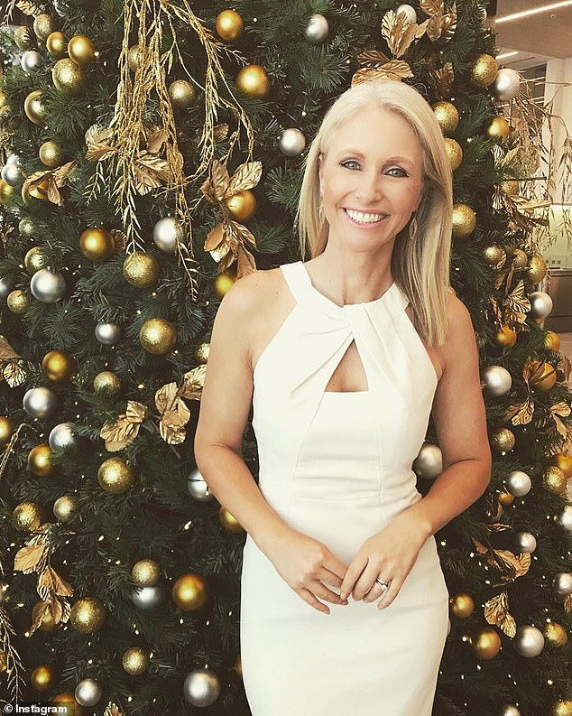 Making adjustments: Following a recent escalation of cases in Sydney both Carols by Candelight and Carols in the Domain were filmed without a live audience for the first time ever. Pictured: Livinia Nixon