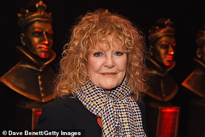Petula Clark is pictured in March 2020