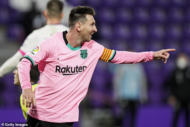 Messi is not expected to decide his future until his Barcelona contract expires next summer