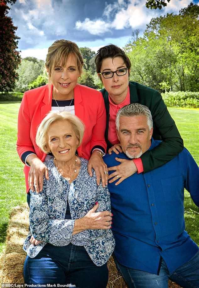 Exit:The TV chef and cookery author, 85, turned down a huge pay rise to stay with the baking show after it switched networks from BBC One to Channel 4 after seven years
