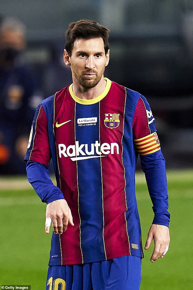 Messi said that he felt as if his time at the Nou Camp was over following boardroom fallout