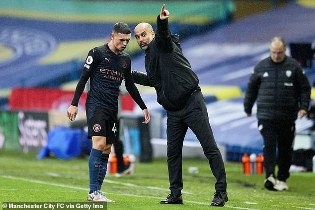 Foden is not at the stage where he wants to leave and gets along well with Pep Guardiola
