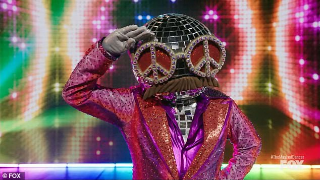 Masked franchise :Ice-T removed his Disco Ball disguise after becoming the first celebrity to be eliminated Sunday on the series premiere of The Masked Dancer on Fox