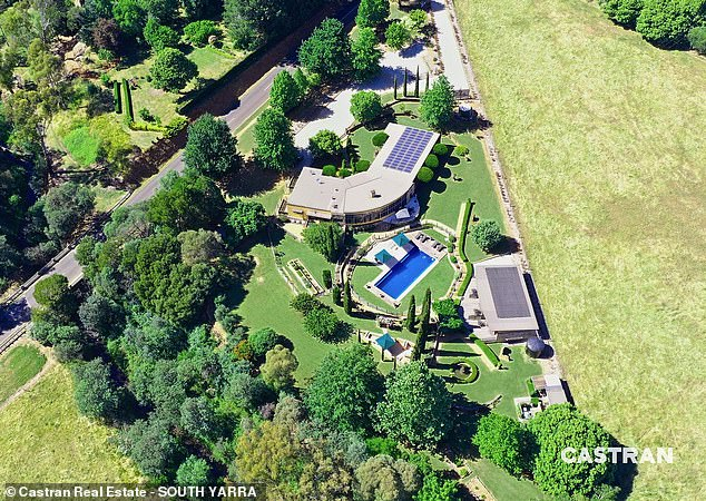 Asking price: Owners Ben and Kirsten Edwards are asking for between $3million and $3.5million for the sprawling property