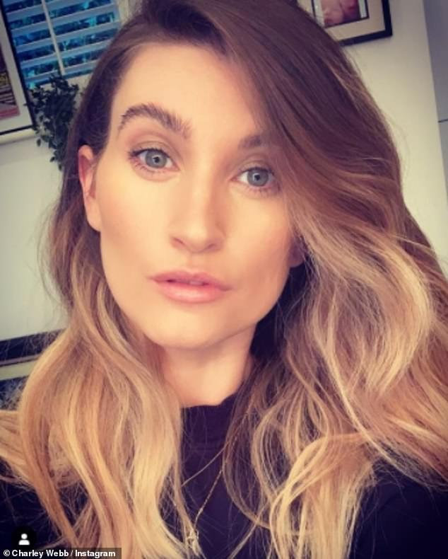 'Anger':Charley Webb has explained her 'anger' over Jesy Nelson leaving Little Mix after she shared an emotional reaction video to the news earlier this year (pictured in March)
