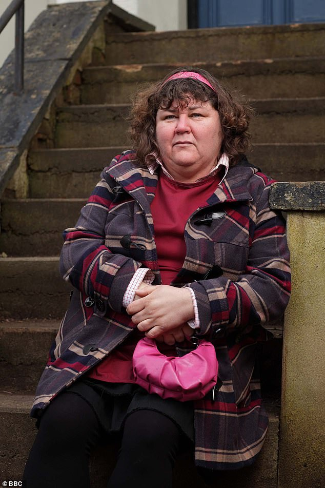 Iconic role: The actress portrayed Heather Trott on the BBC soap from 2007 to 2012 when she was killed by Ben Mitchell (Joshua Pascoe)
