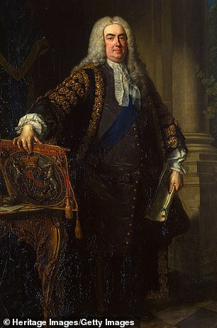 Robert Walpole, Britain's first Prime Minister, made £9,000 from Royal African Company stock in the same decade