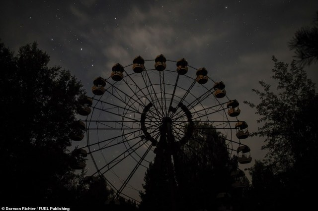 The Ferris Wheel, Pripyat: Though the city was evacuated before its official May Day opening ceremony, the wheel saw occasional use before the disaster, contrary to popular belief